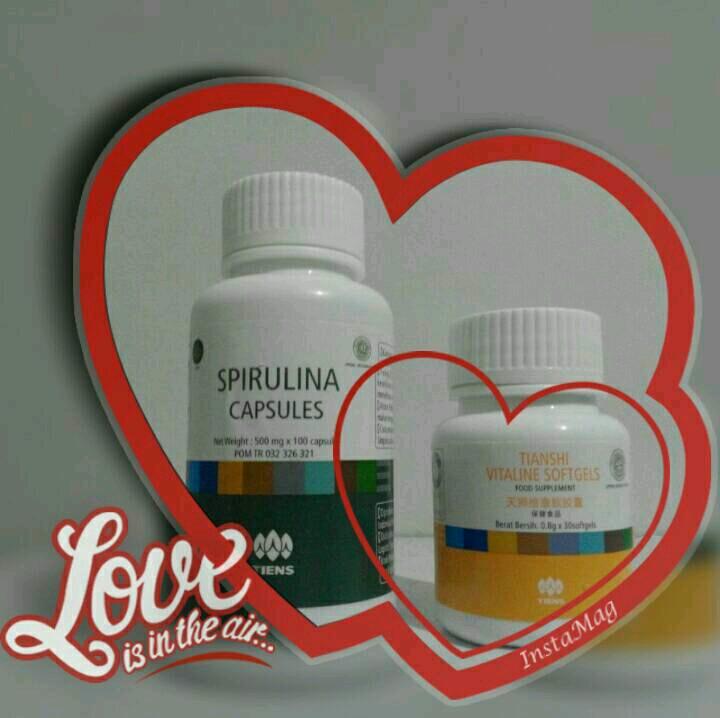 Masker Spirulina + Vitaline Mencerahkan Kulit Wajah Bantu Hilangkan Jerawat